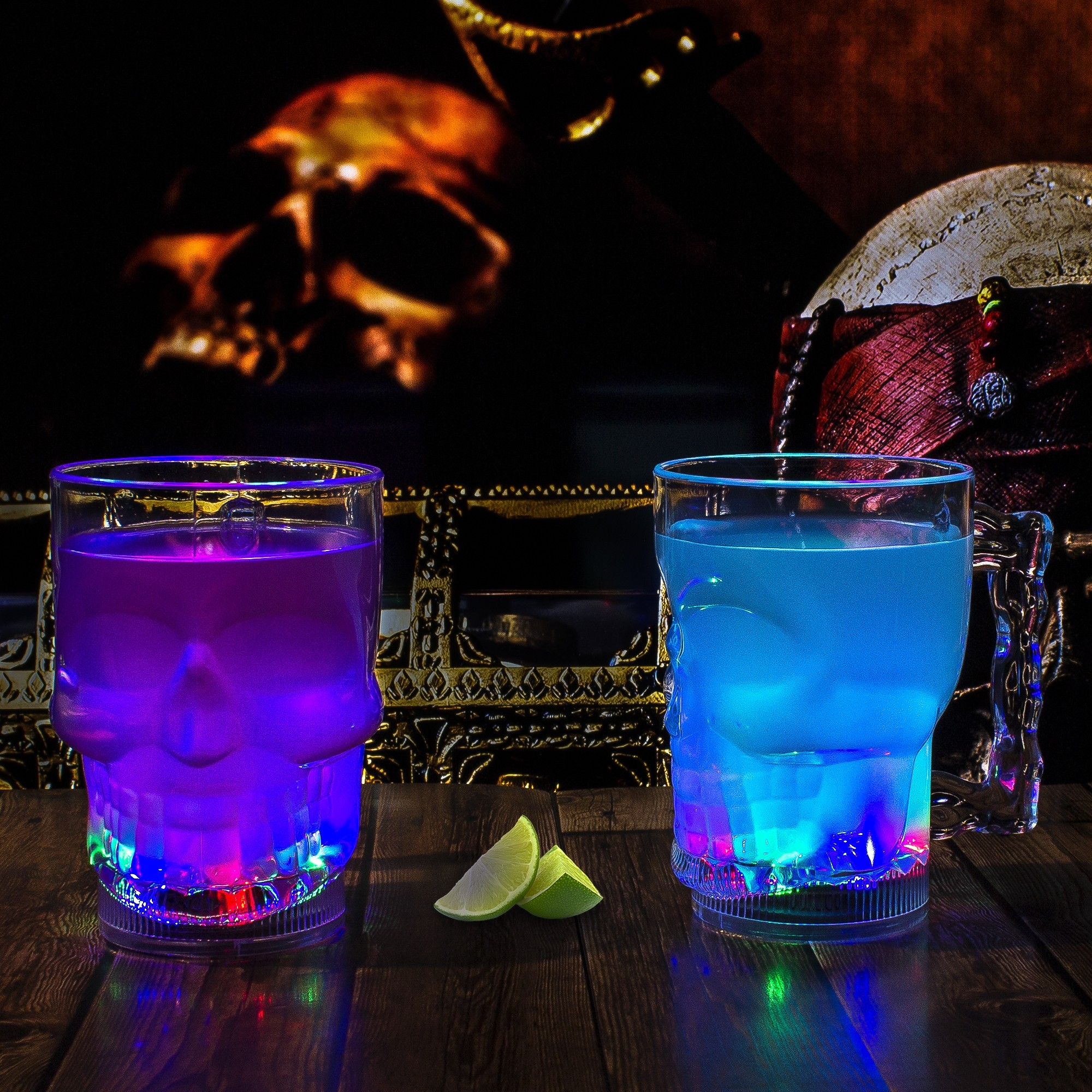 LED SKULL CUP