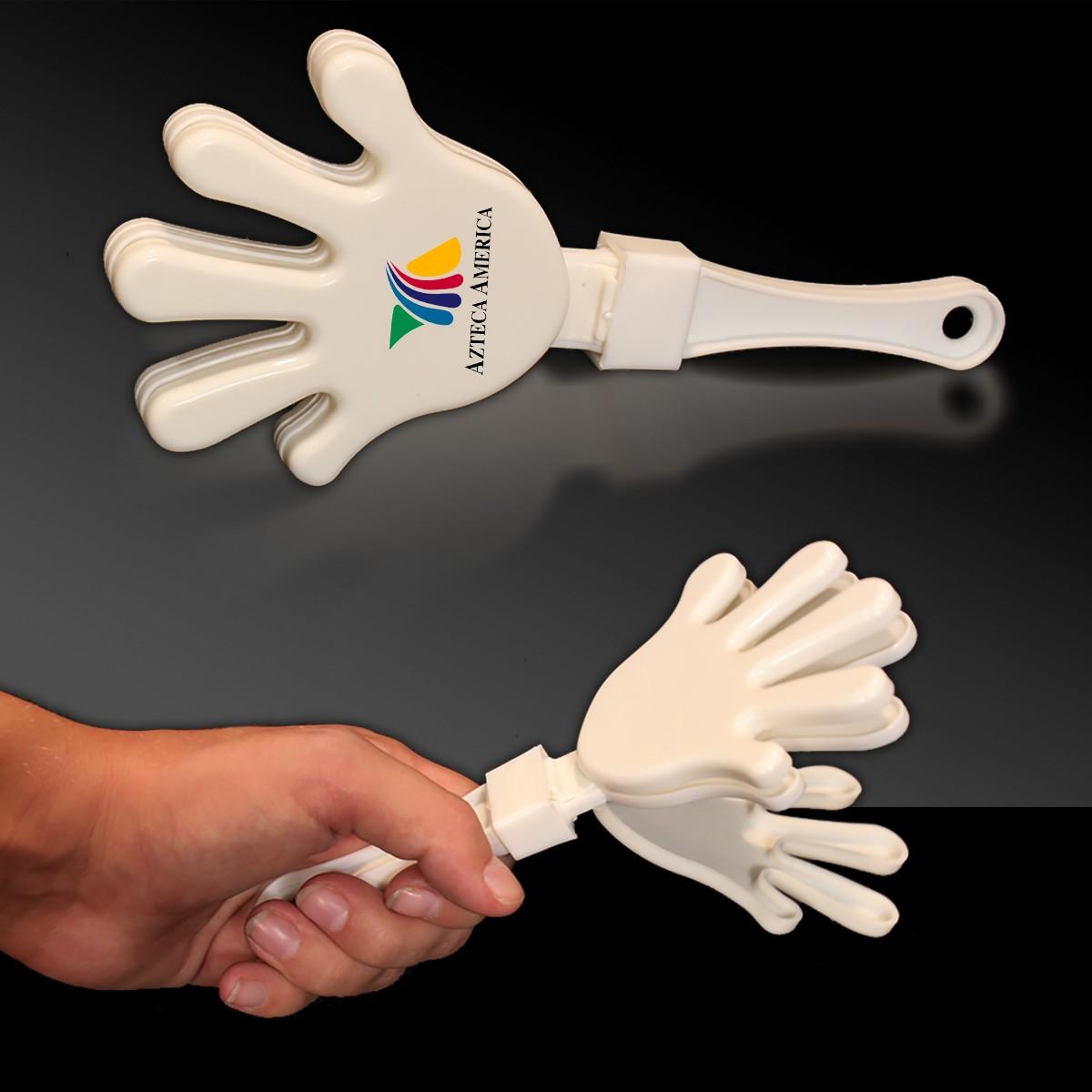 WHITEWHITEWHITE HAND CLAPPER