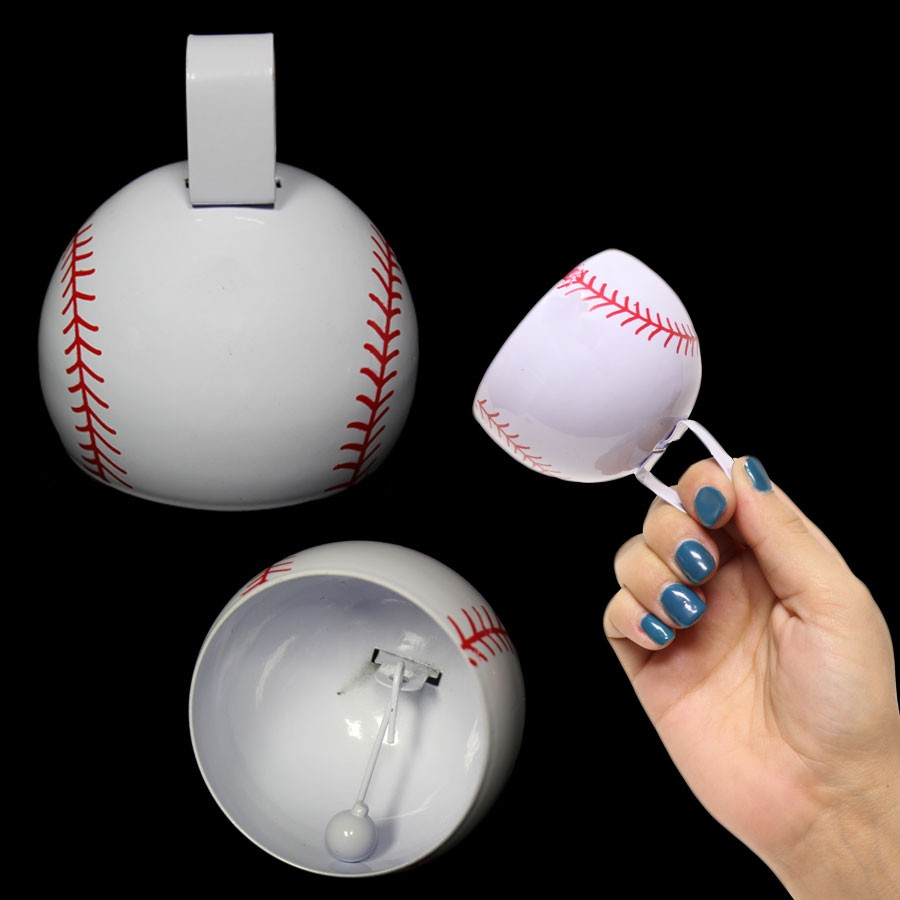 3.5 INCHES BASEBALL COWBELL