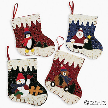 Felt Mini Stockings