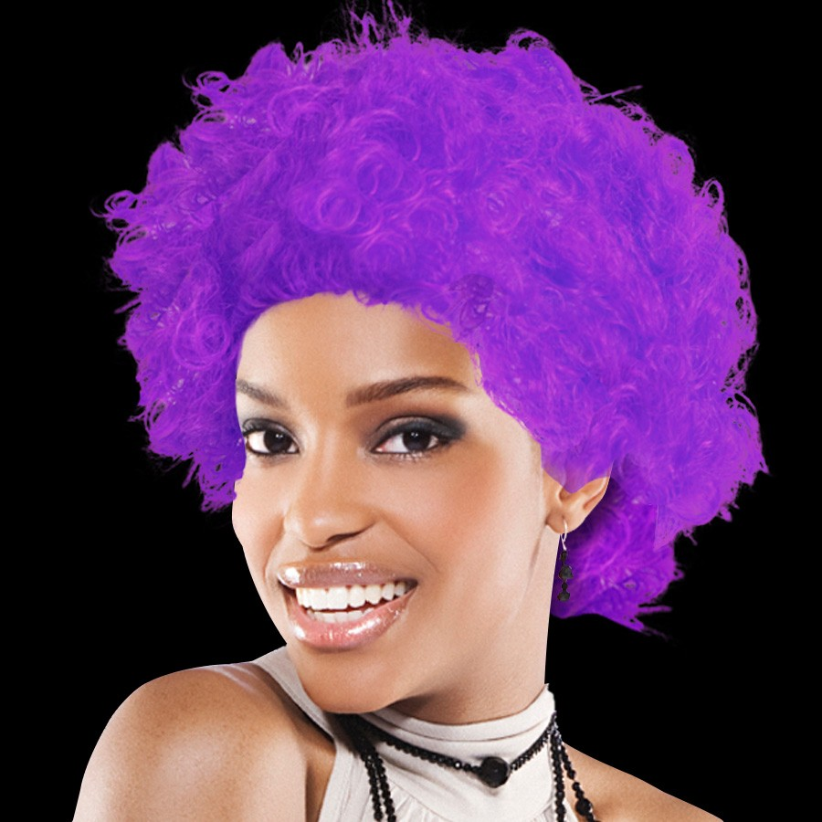 TEAM SPIRIT WIG  PURPLE