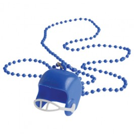 Blue Bead Necklaces With Football Helmets