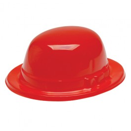 Red Bowler Derby Hats