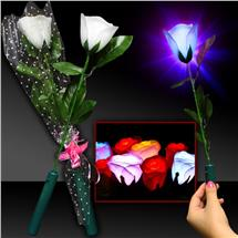 14 INCH WHITE 7 FUNCTION LED ROSE