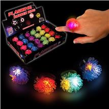 LED LIGHT UP PORCUPINE RING