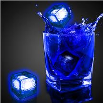 BLUE LED-CLEAR ICE CUBE