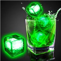 GREEN LED-CLEAR ICE CUBE
