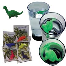1-2 INCH GROWING DINOSAURS