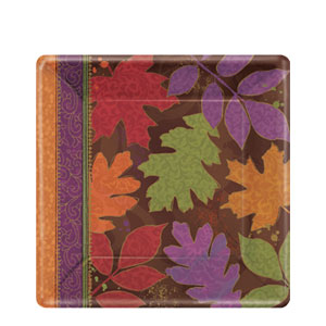 Fall Forward 7 Inch Square Plates