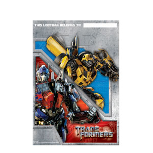 Transformers 3 Folded Loot Bags- 8ct