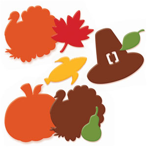 Thanksgiving Deluxe Foam Sticker Kit- 285pc