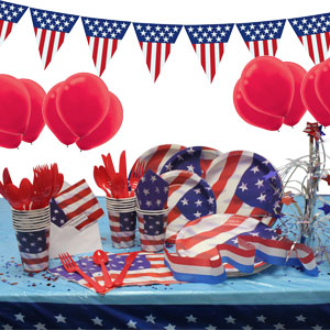 4th of July Deluxe Party Package