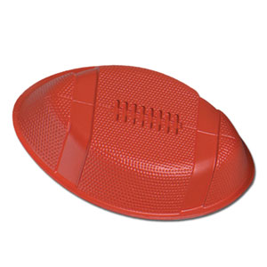 Plastic Football Tray- 12in