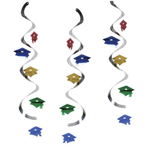 Graduation Dangler - Assorted Colors