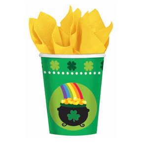 Pot of Gold 9 oz Cups
