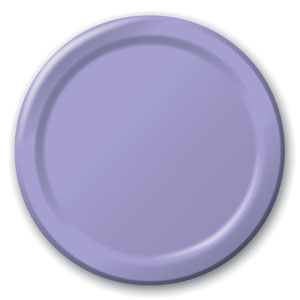 Royal Purple 9 Inch Plates