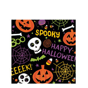 Spooktacular Luncheon Napkins- 125ct