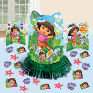 Dora Table Decorating Kit- 23pc