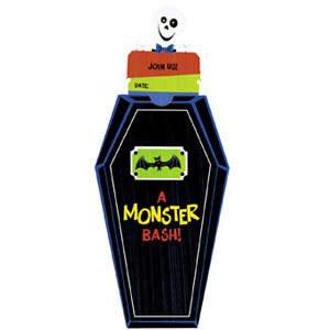 Monster Bash Invitations- 8ct