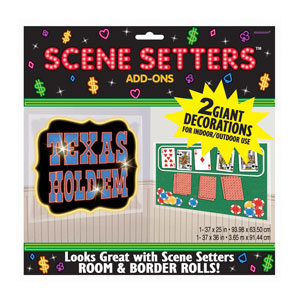 Texas Hold'em Scene Setter- 65in