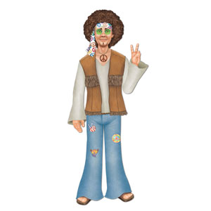 Hippy Dude Cutout - 37in