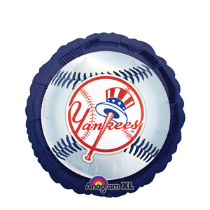New York Yankees Balloon- 18in