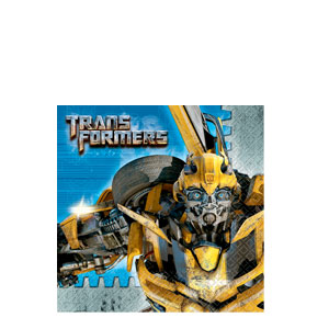 Transformers 3 Beverage Napkins- 16ct