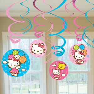 Hello Kitty Swirls- 12ct