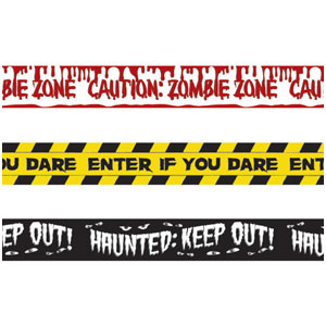 Halloween Fright Tape 3 Pack- 30ft