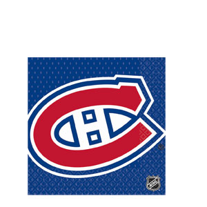Montreal Canadiens Luncheon Napkins- 16ct