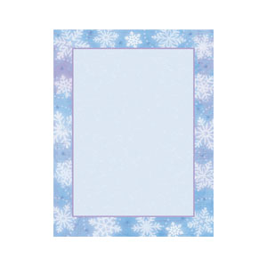 Snowy Breeze Printable Invitations - 25ct