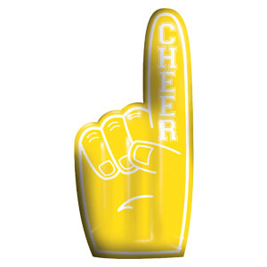 Inflatable Finger - Yellow