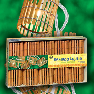 Bamboo Lights- 11ft