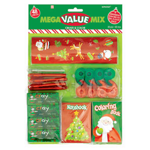 Christmas Create and Color Value Pack- 48pc