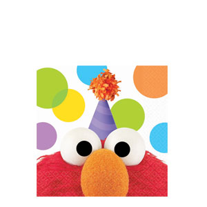 Elmo Party Beverage Napkins- 16ct