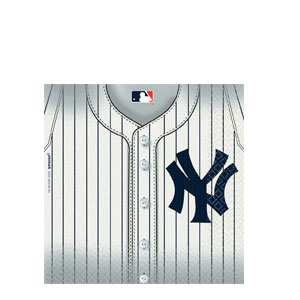 New York Yankees Luncheon Napkins- 36ct