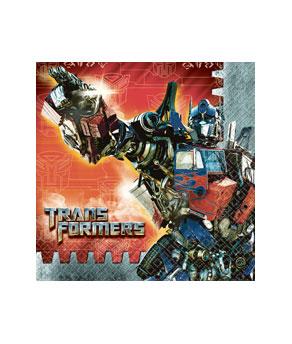 Transformers 3 Luncheon Napkins- 16ct
