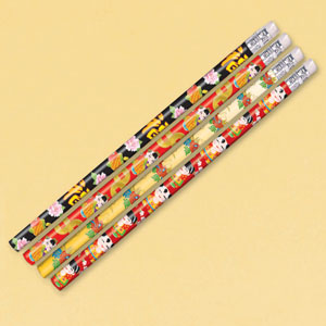 Chinatown Pencil Favors- 12ct