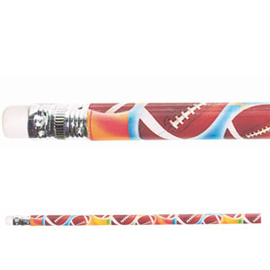 Football Pencil- 12ct