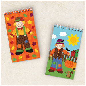 Fall Notepad Favor Value Pack