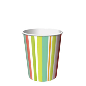 Paradise 9 oz. Cups- 8ct