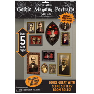 Gothic Mansion Portraits- 2ct