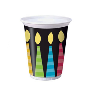 Candles 16 Oz Cups - 8ct