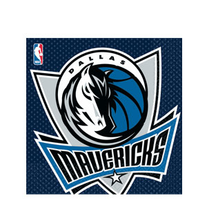 Dallas Mavericks Luncheon Napkins