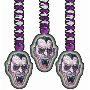 Vampire Foil Hanging Decoration- 3ct