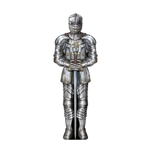 Suit of Armor Cutout - 6ft