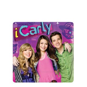 iCarly Square 7 Inch Plates- 8ct