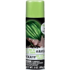 Color Hair Spray- Glow-in-the-Dark