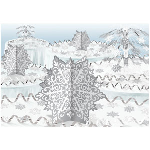 Snowflakes Decorating Kit