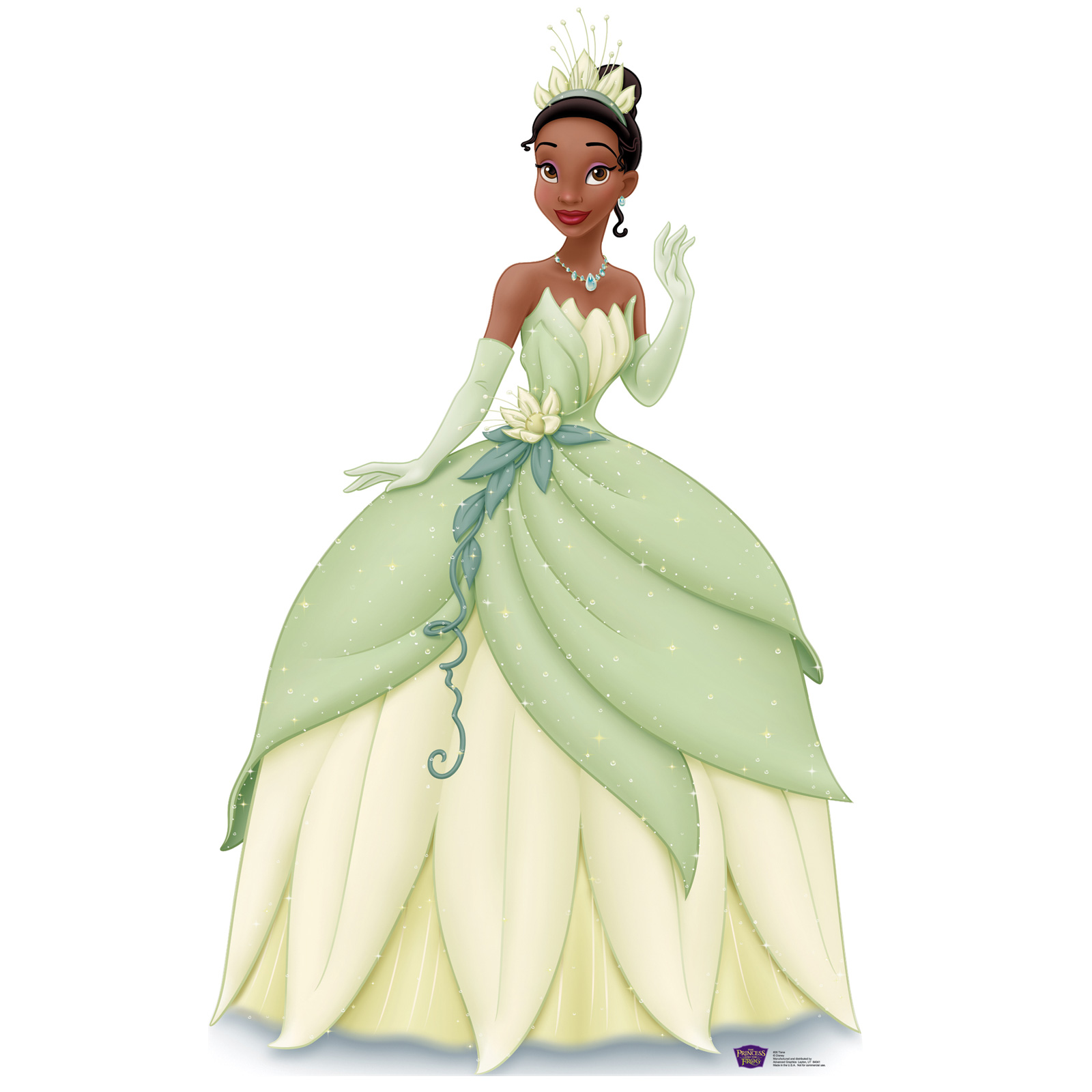 Disney Princess & The Frog Standup